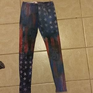 Pants - American Flag leggings